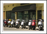 Mopeds on Front Street