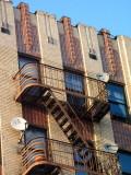 see the fire escapes  COPYRIGHT PAT MORGAN 2007