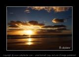 wedge island sunset