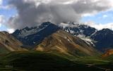 Denali's Cloudy Landscape