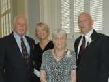 Randy, Lora, Nanny and Mike Hickman