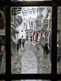Pub Window, Rainy Day
