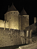 Ramparts At Night #2, Carcassonne