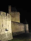 Ramparts At Night #1, Carcassonne