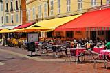 Cafés in Cours Saleya, Nice