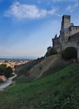 Morning, Carcassonne