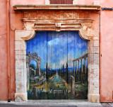 Garage Door, Roussillon