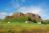Stöðufell farm off Route 32, Þjórsá Valley