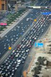 Traffic on Sheikh Zayed Road