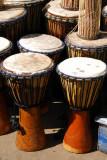 African drums at the Maison des Artisans