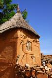 Dogon granary in Songho