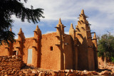 Although the Dogon are mostly non-Muslim, Islamic societies have built mosques in most villages