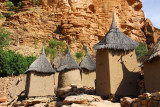 Dogon-style granaries in Tireli