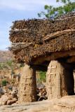 Toguna, where the Dogon men hang out