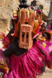Dogon mask dancers, Tireli