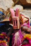 Dogon animal mask dancers, hyena