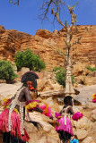 Dogon mask dancers, Tireli