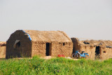 Fisherman's hut along the Niger River
