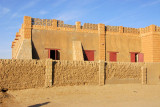 But most of the buildings are more like this, Timbuktu