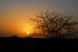 Sunset, Niger