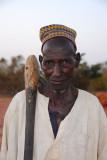 Old farmer, Niger
