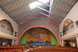 Interior of the Basilica of Notre Dame d'Arigbo, Dassa-Zoumé