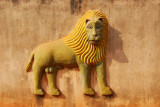 Lion, symbol of King Glele
