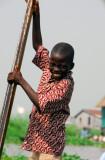 A rare smile in Ganvié