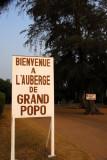 Last stop, L'auberge de Grand Popo