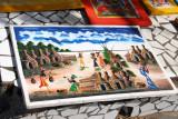 Tourist market at Marche Kermel