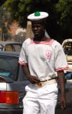 Sailor near the Port of Dakar