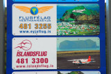 Flugfélag Vestmannaeyja and Íslandsflug, two air taxi companies to the Westmann Islands