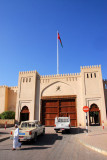 One of the large gates to Nizwa's old town and souq