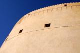 Massive gun tower of Nizwa Fort