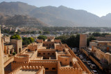 View of the souq from the main tower, Nizwa Fort