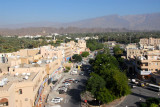 Nizwa's new town from the fort