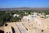 Roof of the fort seen from the main tower, Nizwa