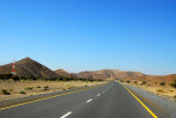 Main road from Bahla to Ibri