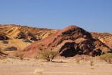 Interesting geologic formations along the Bahla-Ibri road