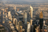Sheikh Zayed Road aerial Jan 07