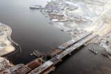 The new Festival City Bridge over Dubai Creek