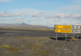 Turning off the Ring Road onto Rte 863 just east of Mývatn to see Jökulsárgljúfur National Park