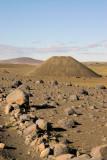Icelandic cinder cone