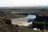 Dettifoss is the largest waterfall by volume in Europe