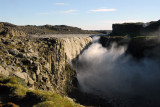Up to 500 m3 of water per second falls 44m at Dettifoss
