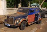 Old car which has seen better days, Dakar