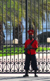 Guard at the Senegalese Presidential Palace