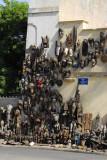 Tourist market at Marché Kermel