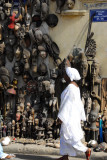 Senegalese woman walking by Marche Kermel
