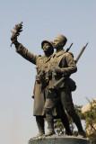 Monument in front of Dakar Railway Station